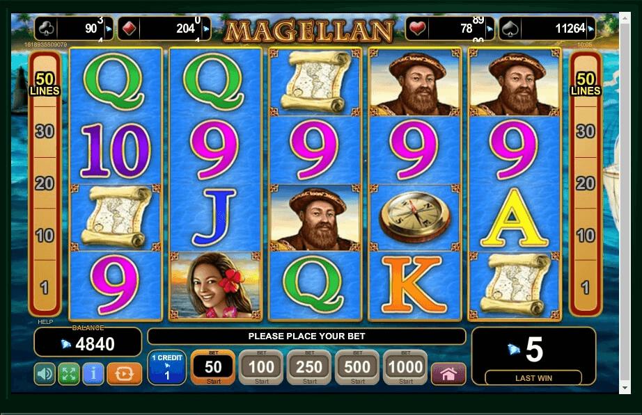 Magellan slot play free