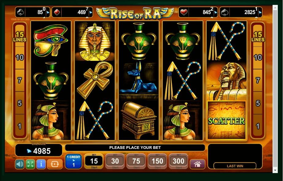 Rise Of Ra slot play free