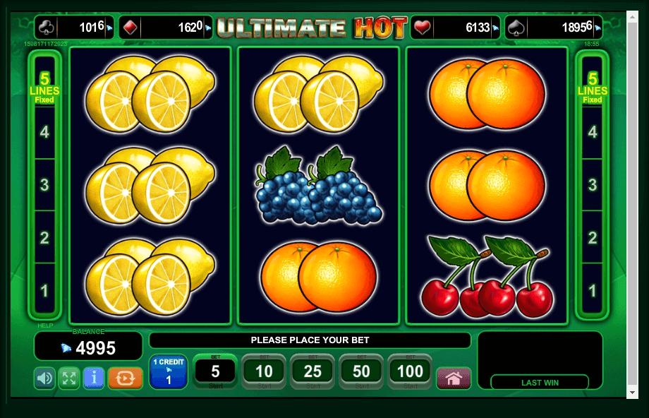 Ultimate Hot slot machine screenshot