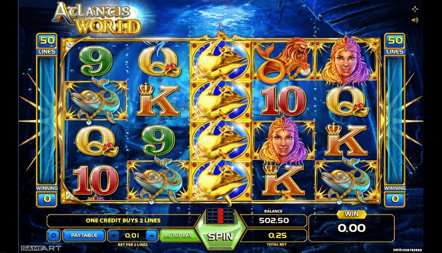 Atlantis World slot play free