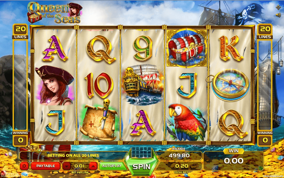 Queen of the Seas slot play free