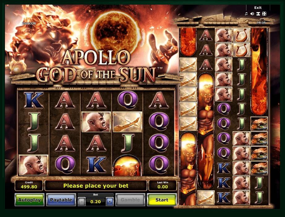 Apollo God of The Sun Slot Machine