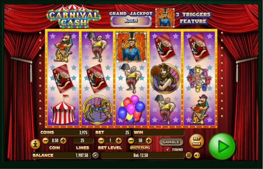 Carnival Cash slot play free