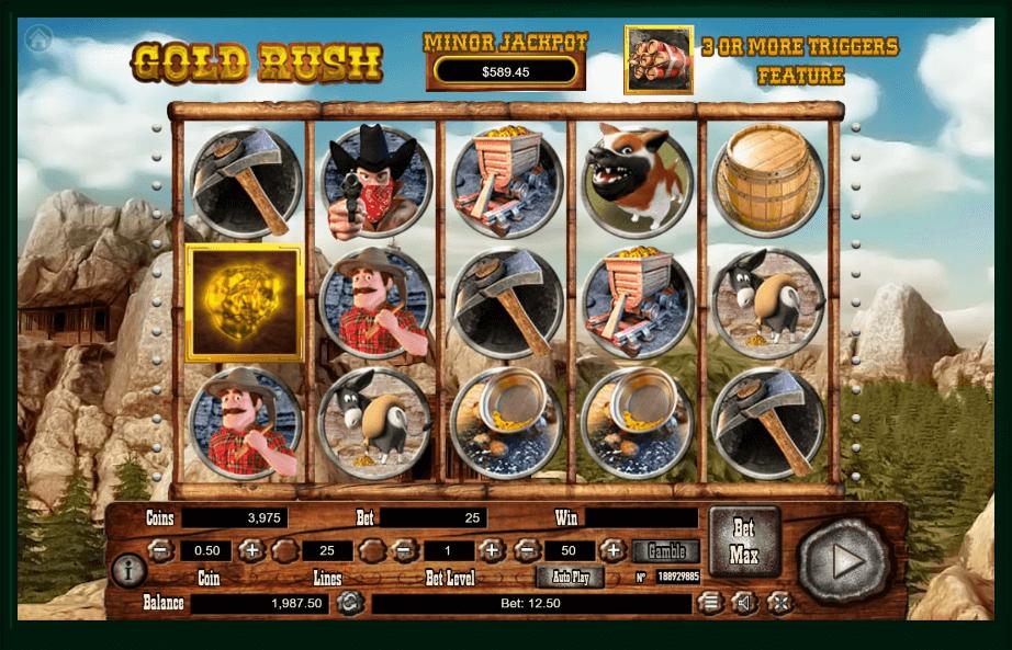Gold Rush slot play free