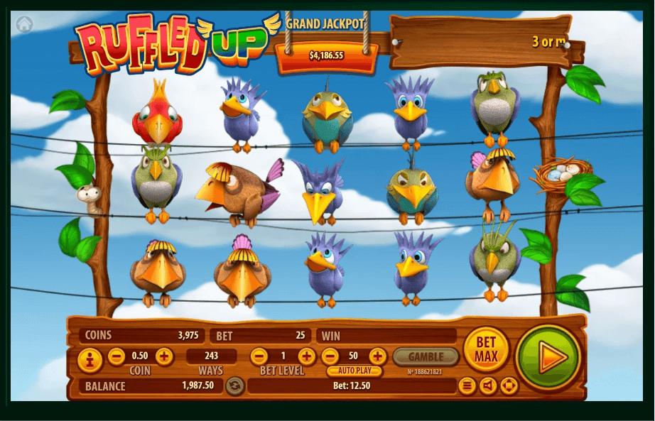 Ruffled Up slot machine screenshot