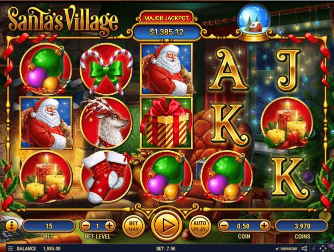 Santas Village slot play free
