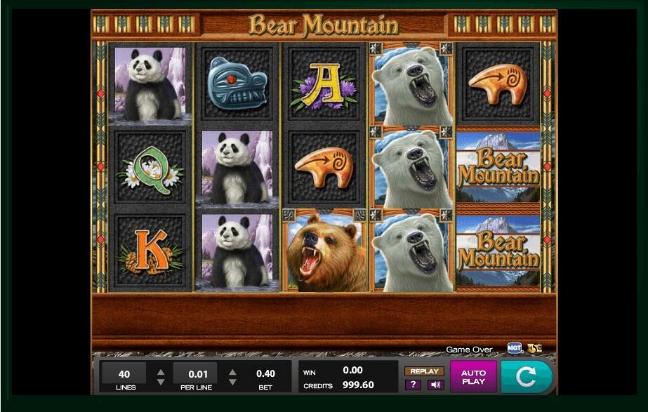 Bear Mountain Slot Machine