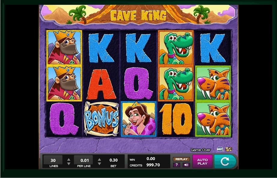 Cave King Slot Machine