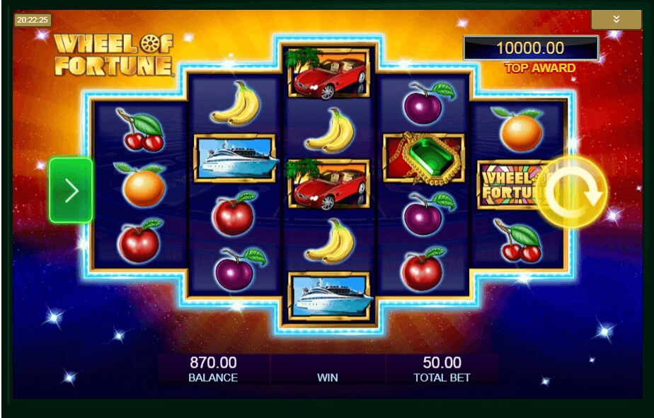 Wheel of Fortune Triple Extreme Spin slot play free
