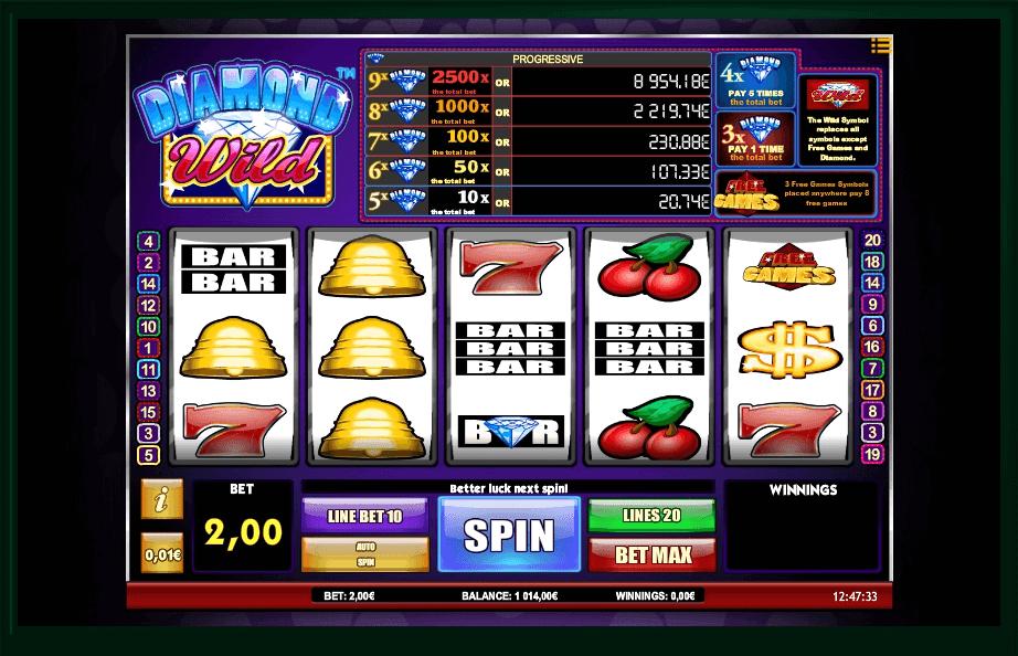 Diamond Wild slot play free