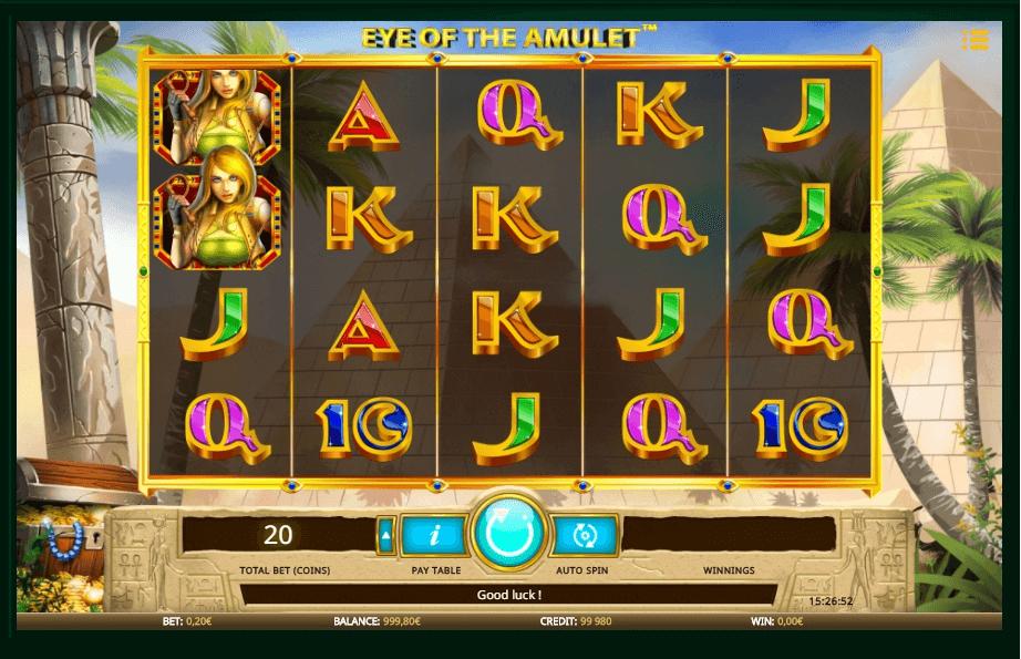 Eye of the Amulet slot play free