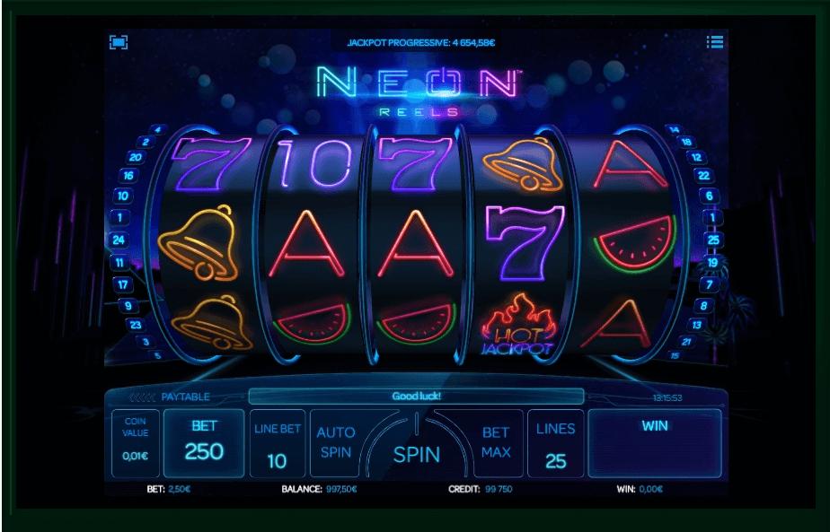 Neon Reels slot play free
