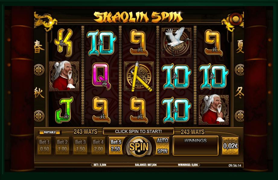 Shaolin Spin slot play free