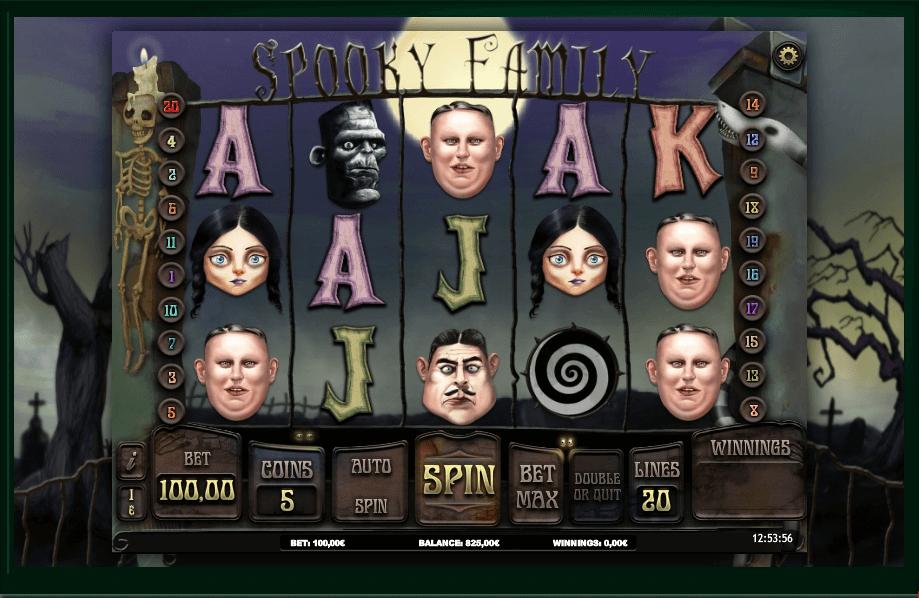 Spooky Family slot play free