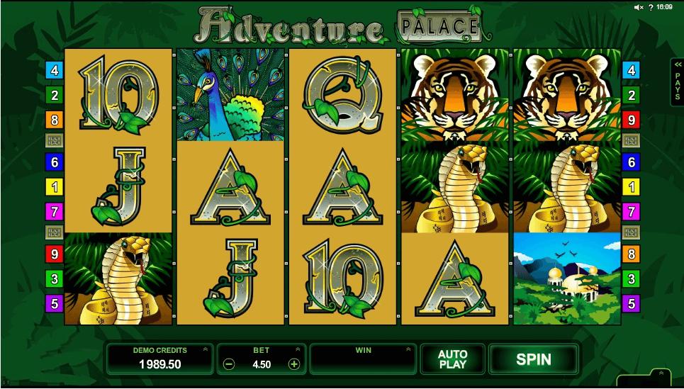 Adventure Palace Slot Machine
