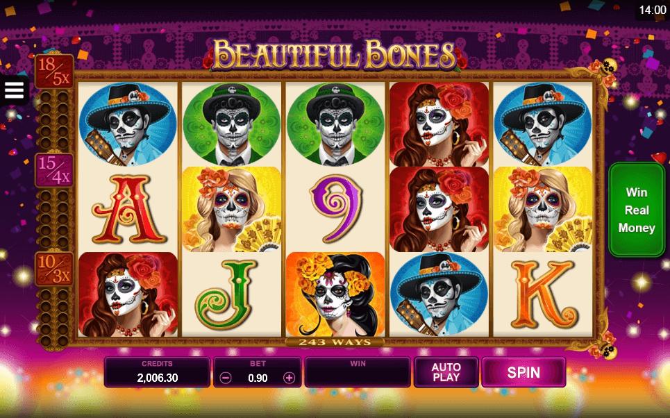 Beautiful Bones slot play free