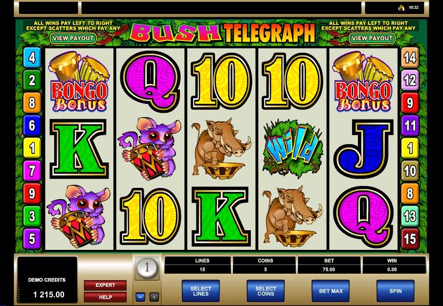 Bush Telegraph slot play free