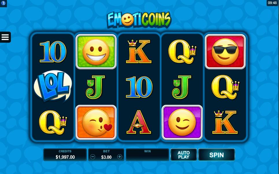 EmotiCoins slot play free