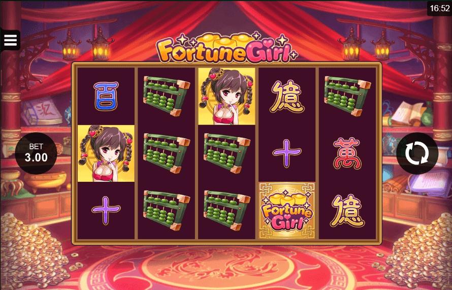 Fortune Girl slot machine screenshot