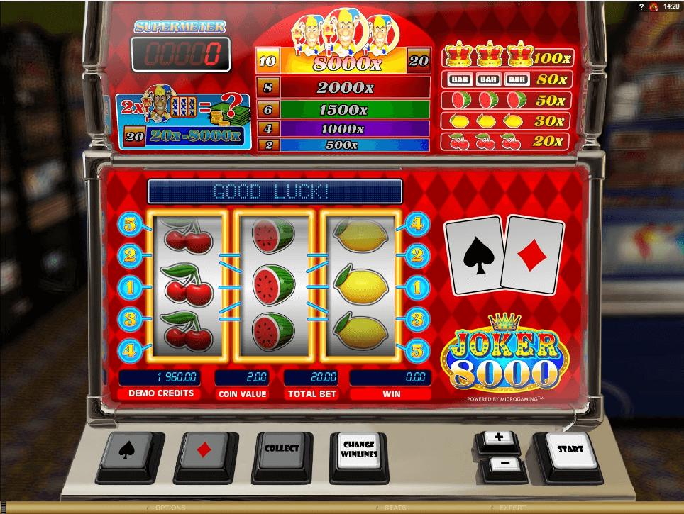 Joker 8000 slot play free