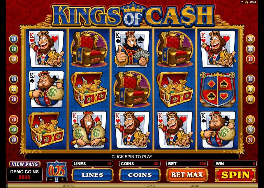 Kings of Cash slot play free