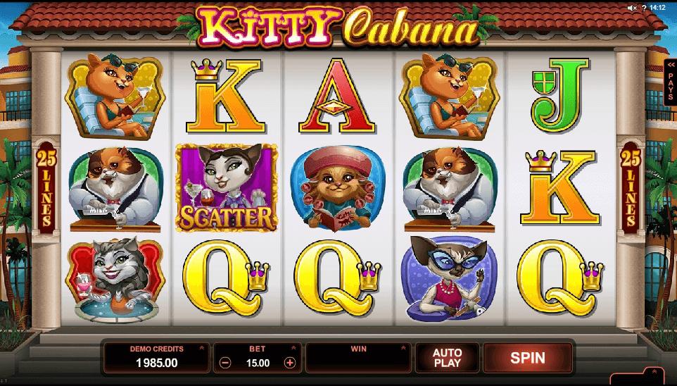 Kitty Cabana slot play free