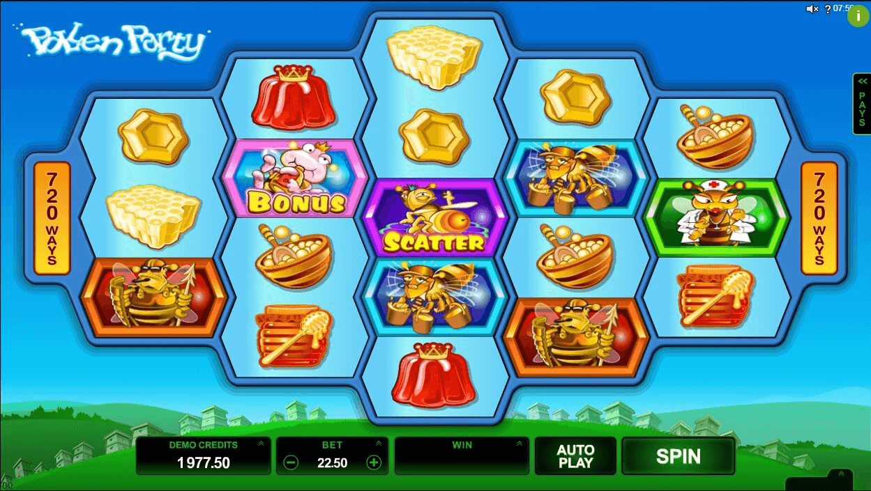 Pollen Party slot play free