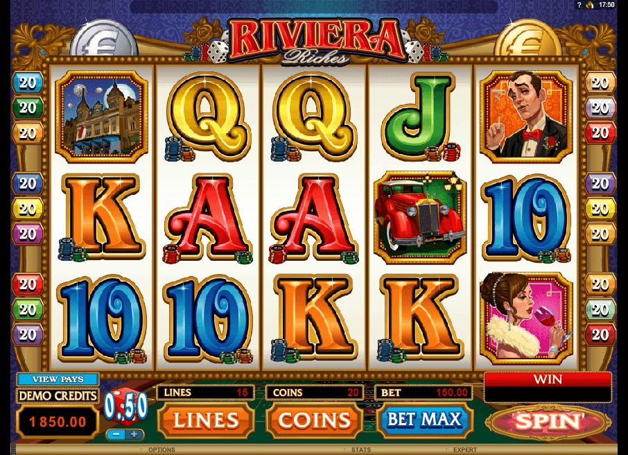 Riviera Riches slot play free