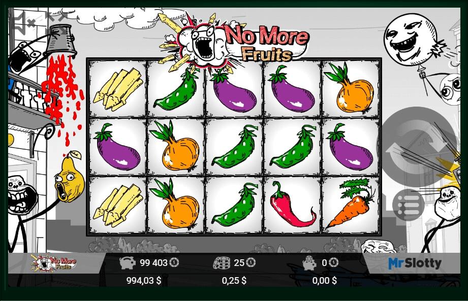 No More Fruits Slot Machine