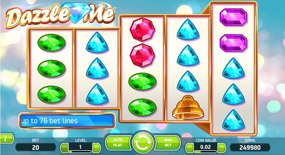 Dazzle Me slot play free