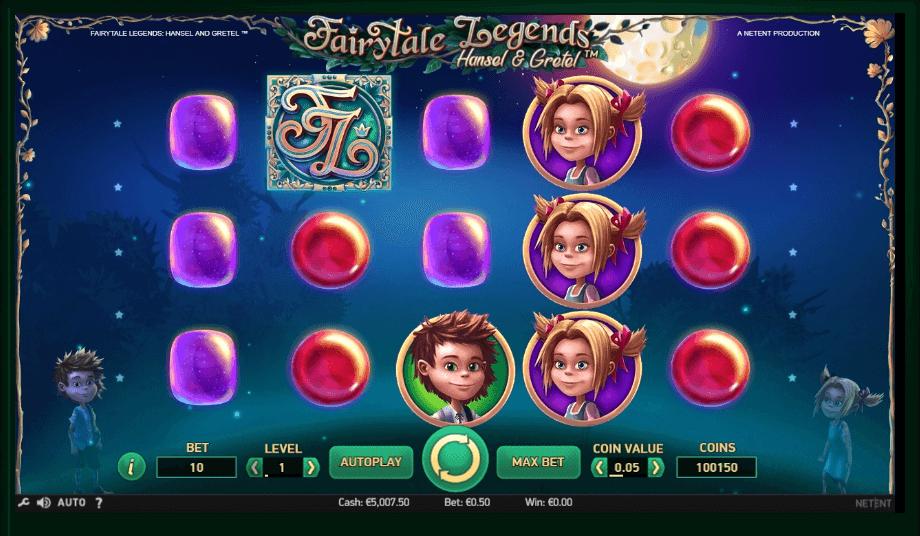 Fairytale Legends: Hansel & Gretel slot play free