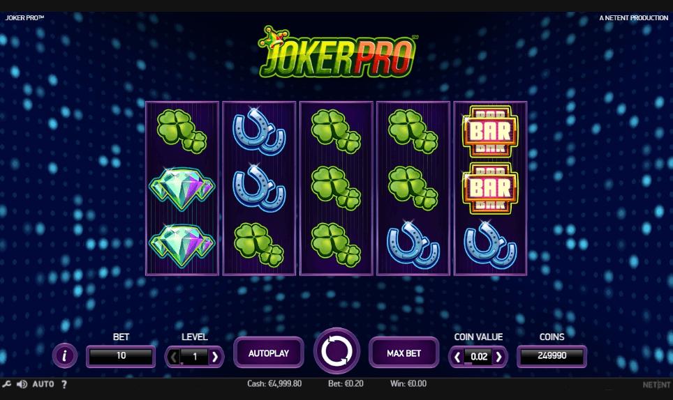 Joker Pro slot play free