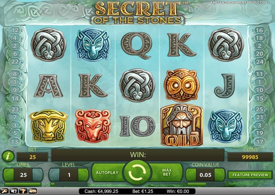 Secret of the Stones slot play free