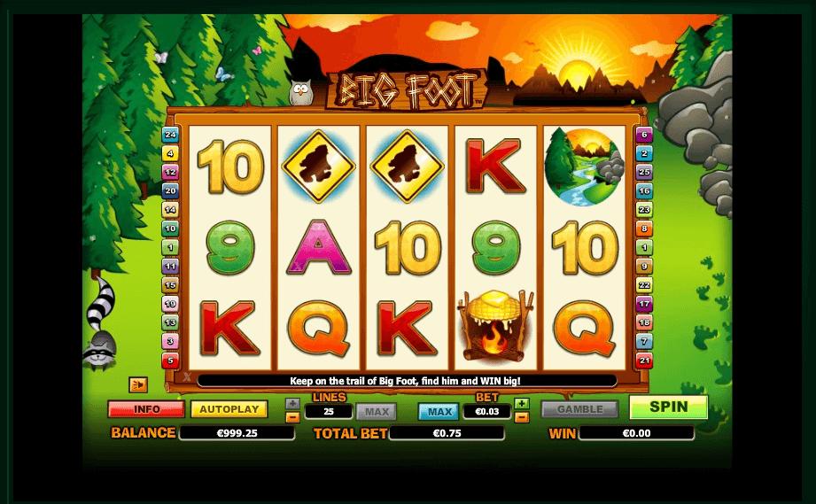Big Foot slot play free