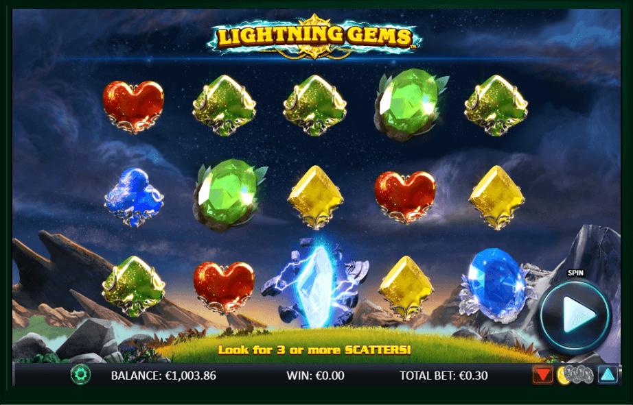 Lightning Gems slot play free