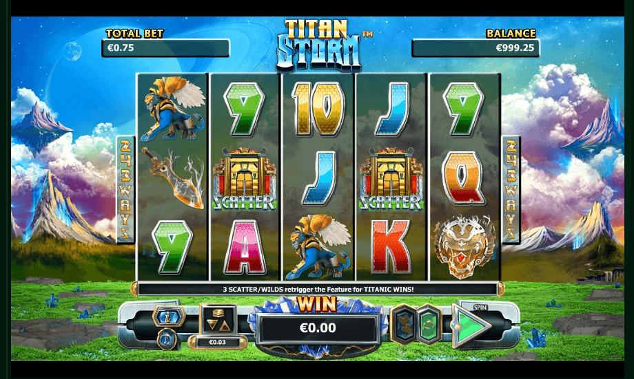 Titan Storm slot play free