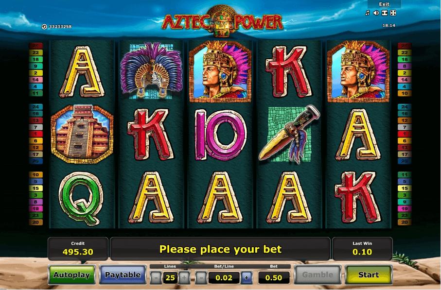 Aztec Power slot play free