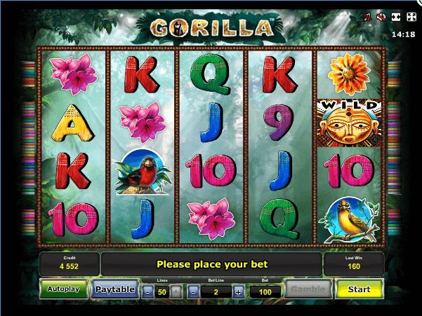 Gorilla slot play free