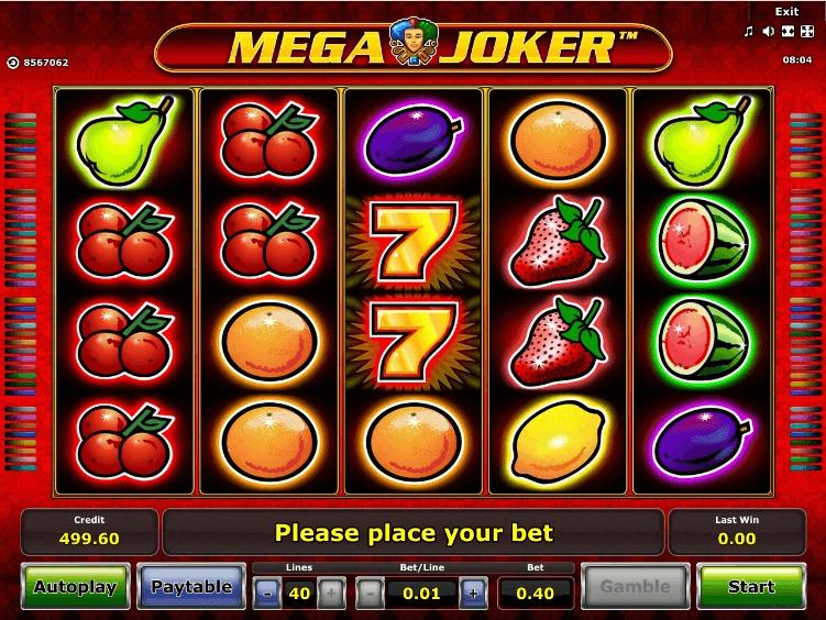 Mega Joker slot play free
