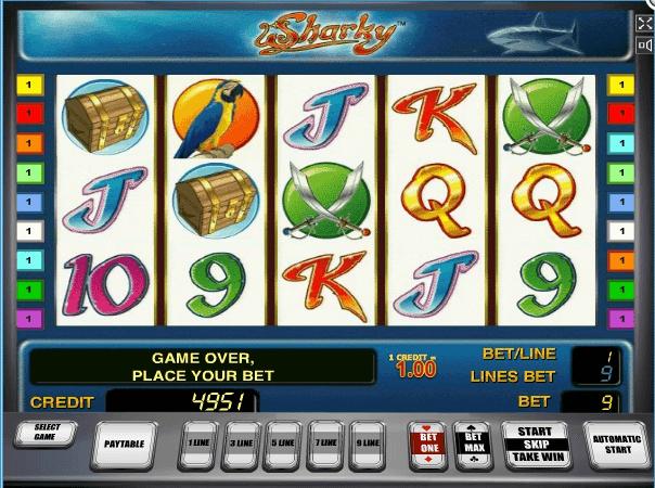 Sharky slot play free