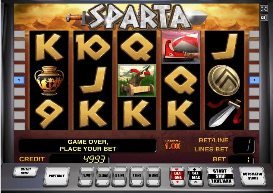 Sparta slot play free