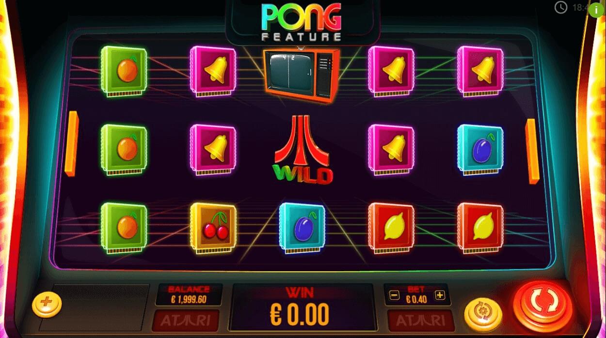 Atari Pong Slot Machine