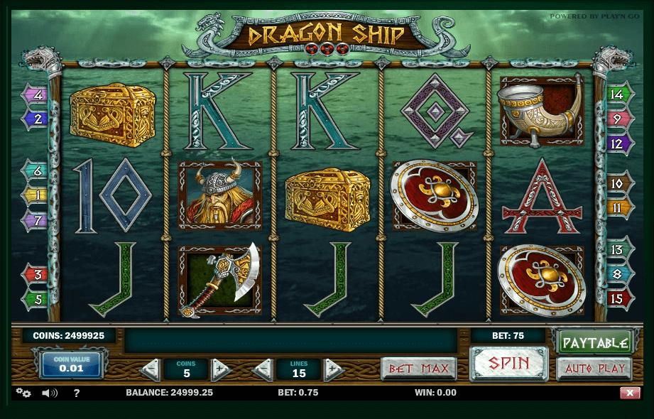 Dragon Ship slot play free