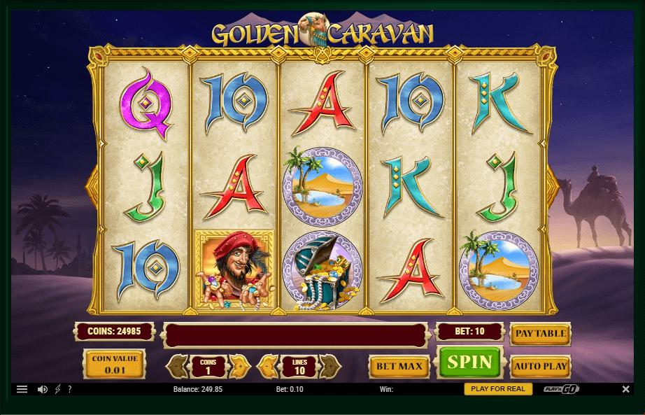 Golden Caravan slot play free