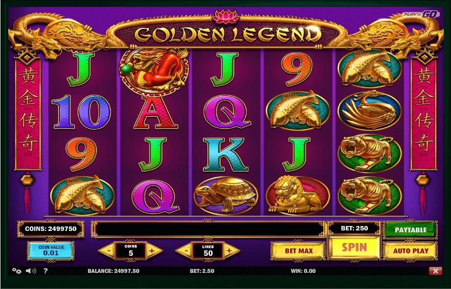 Golden Legend slot play free