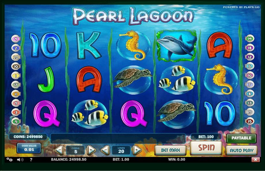 Pearl Lagoon slot play free