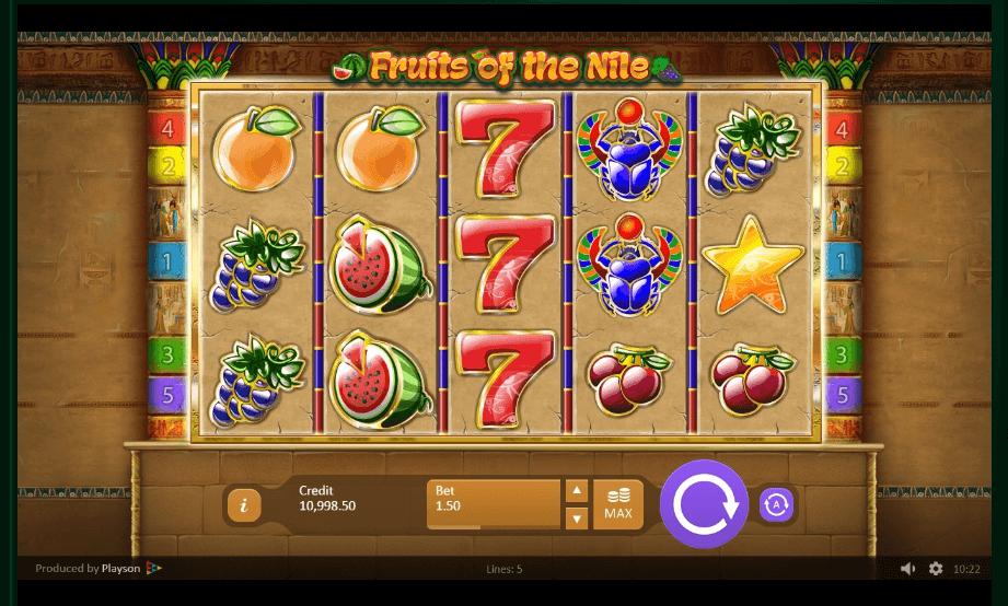 Fruits of Ra slot machine screenshot