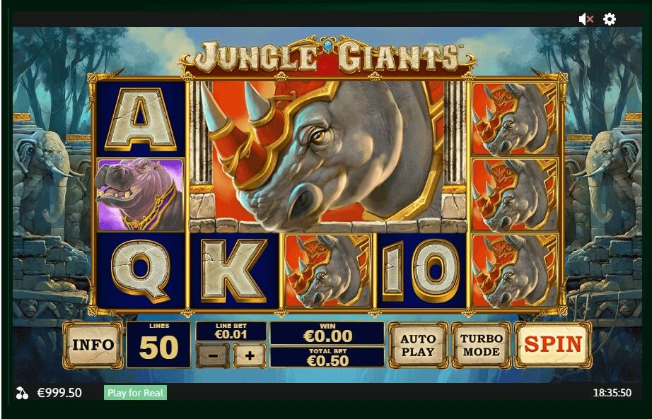 Jungle Giants slot play free