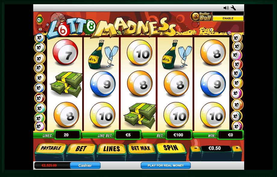 Lotto Madness slot play free