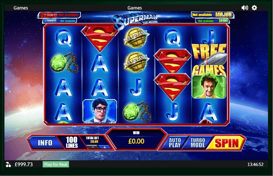 Superman The Movie slot play free